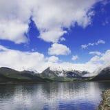 colorado lakes kopplar samman Royaltyfri Fotografi