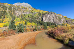 Colorado Landscape in Fall Stock Photography