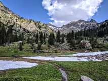 Colorado landscape Royalty Free Stock Images