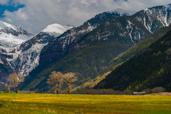 Colorado Landscape Telluride Royalty Free Stock Images