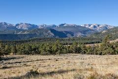 Colorado landskap i höst Arkivfoton