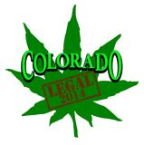 Colorado Legal Marijuana Stock Photo