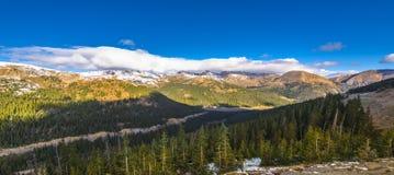colorado lovelandpasserande fotografering för bildbyråer