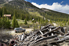 Colorado Mining Ruins Stock Photos