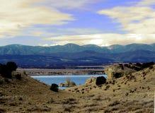 Colorado& x27; montañas mojadas de s fotos de archivo