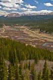 Colorado Montagne Rocciose Immagini Stock Libere da Diritti
