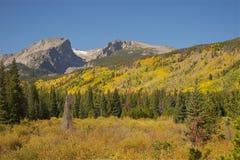 Colorado Montagne Rocciose nella caduta Fotografia Stock