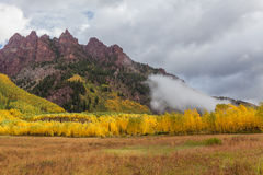 Colorado Mountain Autumn Stock Photo