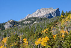 Colorado Mountain Landscape in Fall Royalty Free Stock Photography