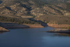 Colorado mountain living Stock Image