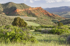 Colorado mountain ranch Stock Images