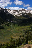Colorado Mountain Range. Continental Divide, Colorado Royalty Free Stock Photography