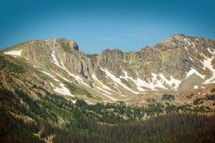Colorado Mountain Range Royalty Free Stock Photos