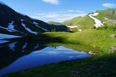 Colorado Mountain Reflection Royalty Free Stock Photo