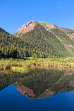 Colorado Mountain Reflection Stock Photos