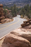 Colorado mountain road Royalty Free Stock Photography