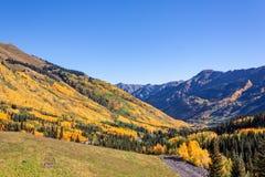 Colorado Mountain Scenic in Autumn Royalty Free Stock Photo