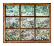 Colorado mountain tapestry window view Stock Photos