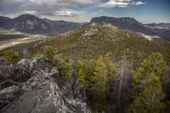 Colorado mountain valley Stock Image