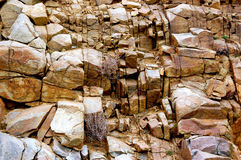 Colorado Mountains-1-93. Colorado Mountain Rocks carved by nature Stock Images