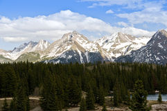 Colorado mountains Royalty Free Stock Image