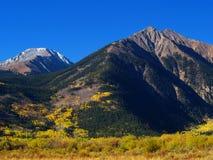 Colorado mountains autumn Stock Photo
