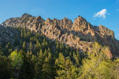 Colorado Mountains Royalty Free Stock Images