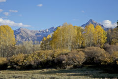 Colorado Mountains in Fall Royalty Free Stock Images