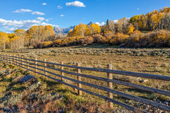 Colorado Mountains in Fall Royalty Free Stock Photography
