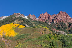 Colorado Mountains in Fall Stock Photos