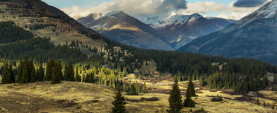 Colorado mountains. Mountain Landscape in Colorado Rocky Mountains, Colorado, United States Royalty Free Stock Image