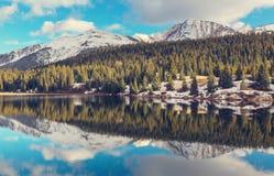 Colorado mountains. Mountain Landscape in Colorado Rocky Mountains, Colorado, United States Stock Images