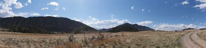 Colorado mountains panorama , New Castle. USA Stock Photo