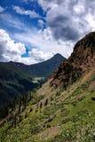 Colorado Mountains. Riding an ATV in the Colorado mountains Royalty Free Stock Image