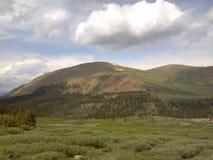 Colorado mountaintop lush greenery gods country. Colorado mountaintop lush greenery gods royalty free stock photos