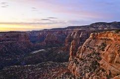 Colorado Mounument nazionale #1 Immagine Stock Libera da Diritti