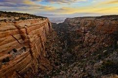 Colorado Mounument nazionale #2 Fotografia Stock Libera da Diritti
