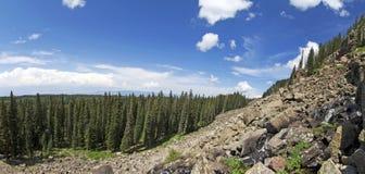 Colorado Moutain Panorama Stock Photo