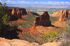 Colorado National Monument. Is in western Colorado near Grand Junction Royalty Free Stock Photo