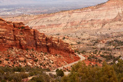 Colorado National Monument Royalty Free Stock Photography