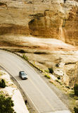 Colorado National Monument. Visitors drive through the scenery along the Rim Rock Drive in Colorado National Park Royalty Free Stock Photography