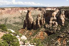 Colorado National Monument Royalty Free Stock Images