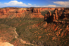 Colorado National Monument 2. Colorado, National Monument in western Colorado Stock Image