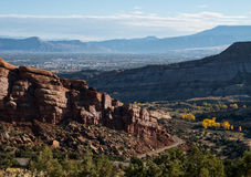 Colorado National Monument Royalty Free Stock Photo