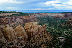 Colorado National Monument scenery Royalty Free Stock Photography