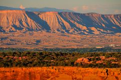 Colorado National Monument at Sunset Stock Photos
