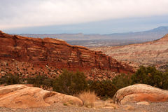 Colorado National Monument view Royalty Free Stock Images