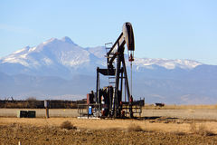 Colorado olja pumpar Arkivbilder