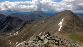 Colorado Peaks. Top of Torreys Peak in Colorado Stock Photography