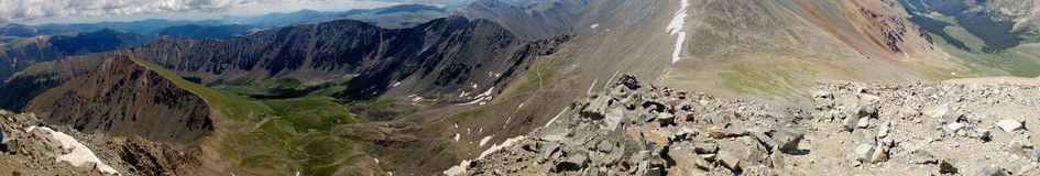 Colorado Peaks. Top of Torreys Peak in Colorado Stock Images